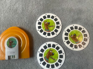 View-Master Super Sounds Scooby-Doo ! 3 Slides and Case Set