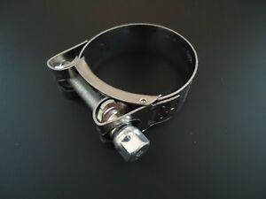 Mikalor Stainless Steel Exhaust Clamp 59mm 60mm 61mm 62mm 63mm