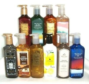 Bath & Body Works Deep Cleansing Gentle Gel Hand Soap 8oz - Choose Your Scent