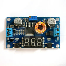 4-38V to 1.25-36V 5A  DC Adjustable step-down Power module with LED voltmeter