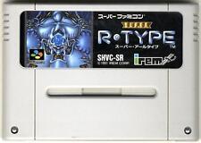 """"""" SUPER R-TYPE """" NINTENDO SUPER FAMICOM SNES SFC"""