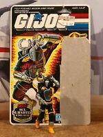 GI Joe 1986 Cobra B.A.T.S. BATS Loose Complete with Fullcard Filecard - Original