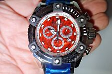 Invicta Reserve Grand Octane Arsenal Red Abalone High Polished 63mm Watch New