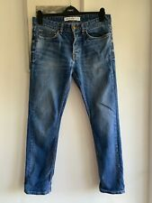 Mens Blue Slim Stretch Jeans From NEW LOOK MEN - Size 32/32