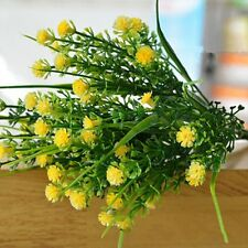 Home Decoration Green Plastic Flower Fake Plants Wedding Artificial Grass