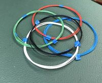 20 feet 32 AWG Silver Plated Copper PTFE Wire 5 color SPC
