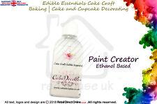 Paint Creator Solution Fluid | Edible Sugar Craft Cake Decorating | 50 ML