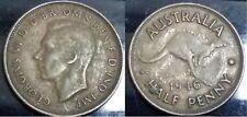 1946 Australian half Penny coin #GA21C