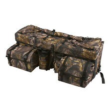 "33"" Camo ATV Rear Rack Soft Storage Gear Bag"