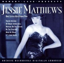 Jessie Matthews.One Little Kiss From You (CD 2000) New and Sealed 5034504283220