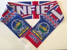 LINFIELD Football Scarf made with soft luxury acrylic yarns NEW