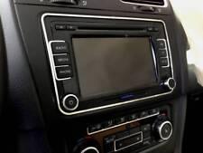 D VW Golf 6 Chrom Rahmen für Radio - Edelstahl poliert