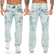 Cipo & Baxx Herren suturas Jeans Hose 435 azul nuevo w28 29 30 31 32 33 34 36 38 40