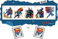 2013 SUPERMAN 75th. Anniversary Stamp Set of 3