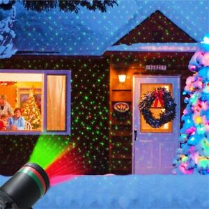 Sky Star Christmas Laser Projector Lights Garden Lawn Landscape Stage Party Lamp