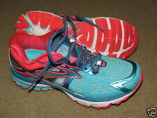 Super Brooks Ravenna bright colored running shoes - womens 8