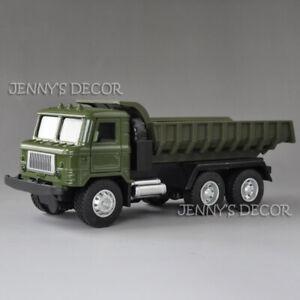 1:43 Diecast Military Model Soviet GAZ-66 Tipper Skip Truck Pull Back Vehicle