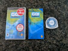 Go Sudoku Sony PSP PlayStation Portable Game Boxed & Complete