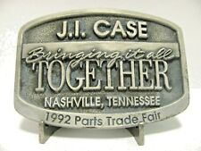 Case IH 1992 Parts Conference & Trade Fair Belt Buckle Ltd Ed #599 Nashville TN