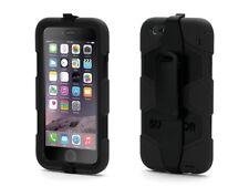 Griffin Survivor Militar Deber Estuche Cubierta Clip De Cinturón Para iPhone 6 6s Negro 4.7