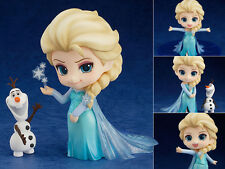 Anime Nendoroid Disney Princess Frozen Queen Elsa PVC Action Figure 10cm No Box