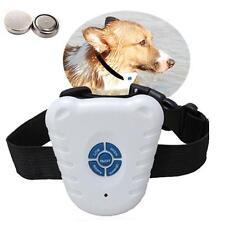 Ultrasonic Pet Training Shock Control Collar Anti Bark No Stop Barking For Dog