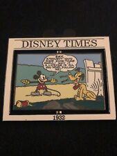 DISNEY TIMES 1932 Le PIN #1