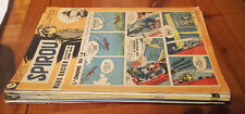 Lot 4 : journaux 10 magazines Spirou entre le 1158 de juin 1960 et le 1178  nov