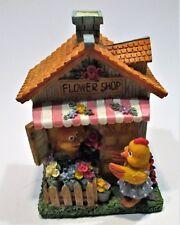 Money box :  A chickens flower shop house piggy bank/Een kippen flower shop huis