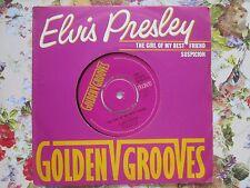 Elvis Presley With The Jordanaires The Girl Of My Best Friend UK 7inch Vinyl