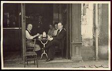 Puteaux . rue Arago. Hauts-de-Seine. photo ancienne originale .café. bar .bistro