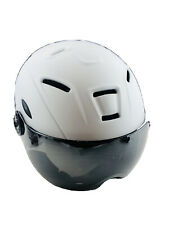 Gonex Ski Helmet Snow Helmet with Detachable Inner Padding Matte White Small