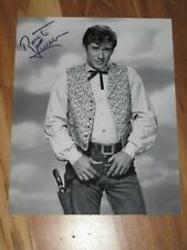Actor ROBERT FULLER Signed 8x10 LARAMIE Photo AUTOGRAPH