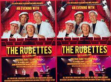 THE RUBETTES TOUR FLYERS X 2 - ALAN WILLIAMS