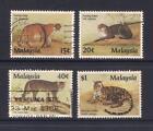 (UXMY047) MALAYSIA 1987 Protected Animals of Malaysia fine used set