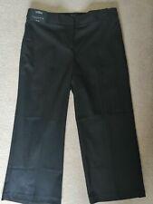 Next Tailoring Black Culotte Trousers New Size 14 REGULAR NEW 23 inside leg
