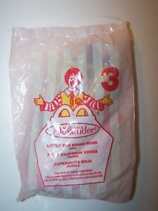2001, 2002 McDonald's Madame Alexander Doll #3 Little Red Riding Hood