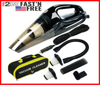 Handheld Car Vacuum Cleaner 12V Auto Mini Wet Dry Portable With 15 Ft Power Cord