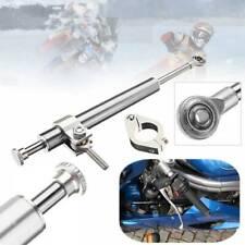 Motor Steering Damper Fork Anti-oxidation Aluminum Silver Motorcycle Part 330mm