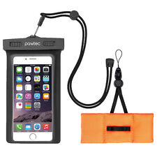 Pawtec Universal Waterproof Pouch Case IPX8 for iPhone X 8 7 6 6s w Float Buoy