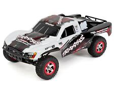 TRA58034-2-WHT Traxxas Slash 1/10 RTR Short Course Truck (White)