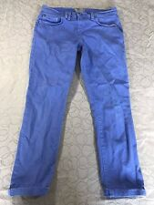 Women's Bench Capri Cropped Chino Jeans, Blue, sz 27, EUC - FREE SHIPPING