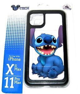 D-Tech XS Max 11 Pro Max iPhone Case ✿ Stitch Smile Sits Disney Parks Authentic
