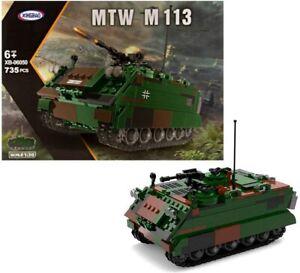 Xingbao M113 Military Armored Transport 735 pcs Building Block Set New 06050