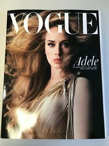 British Vogue November 2021 Subscribers Edition Adele NEW (A2038)