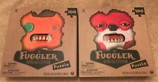 Fuggler Ugly Monster Puzzle Set (2) Lot Sold Out New Creepy Teeth
