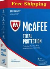 McAfee Total Protection 1 Device 2019 5 YEAR MAC,Win, Android KEY