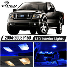 2004-2008 Ford F150 F-150 Blue Interior LED Lights Package Kit