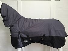 AXIOM 600D WATERPROOF 300G GREY/BLACK TURNOUT COMBO - 6' 6 clearance sale!!