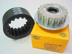 Hella Gates OEM Coupling & Pulley AC Alternator for VW T5 Transporter & Touareg